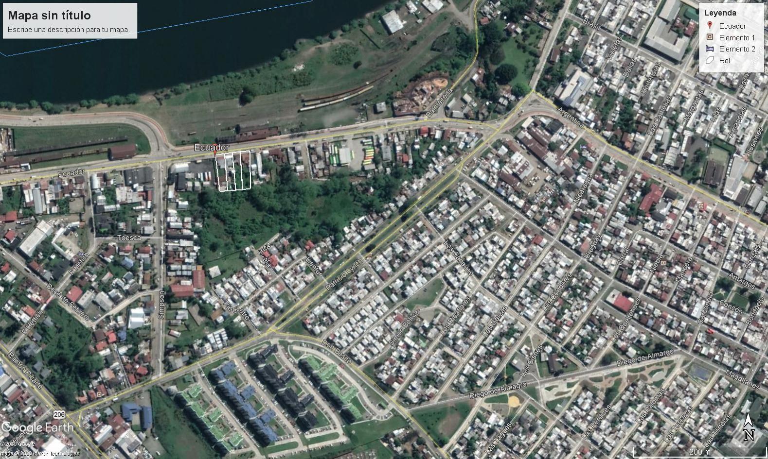 Vendo 3.000 m2 calle Ecuador Cercana al río