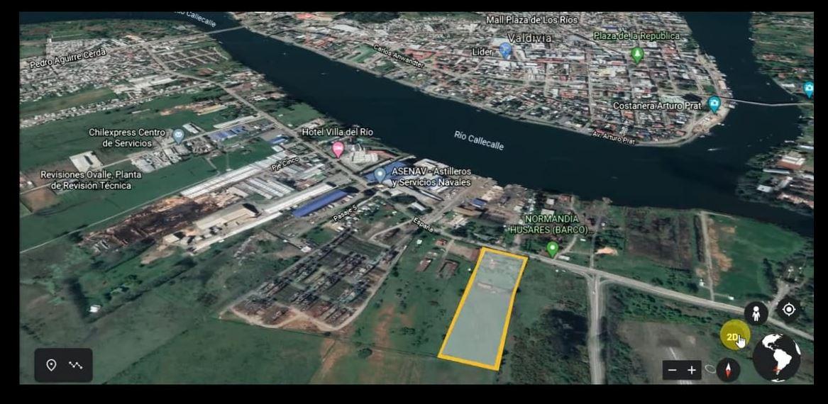 Vendo Terreno Urbano 23.111,5 M2